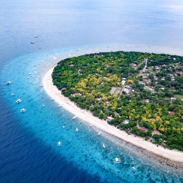Balicasag Island Bohol Philippines