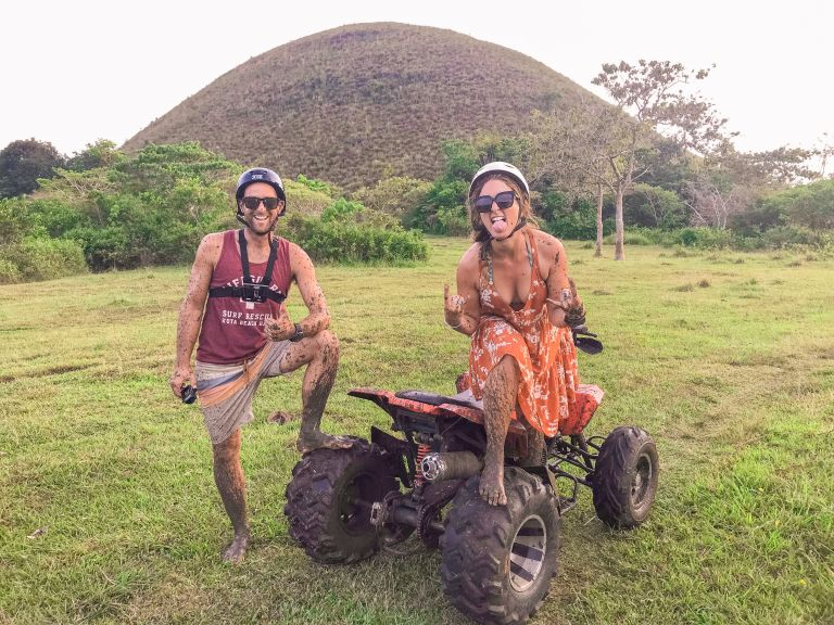 Chocolate Hills ATV Bohol Philippines 2