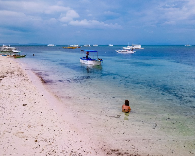 Malapascua Island Cebu Philippines Bounty Beach