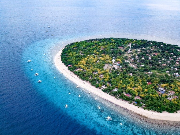 Balicasag Island Bohol Philippines Asia