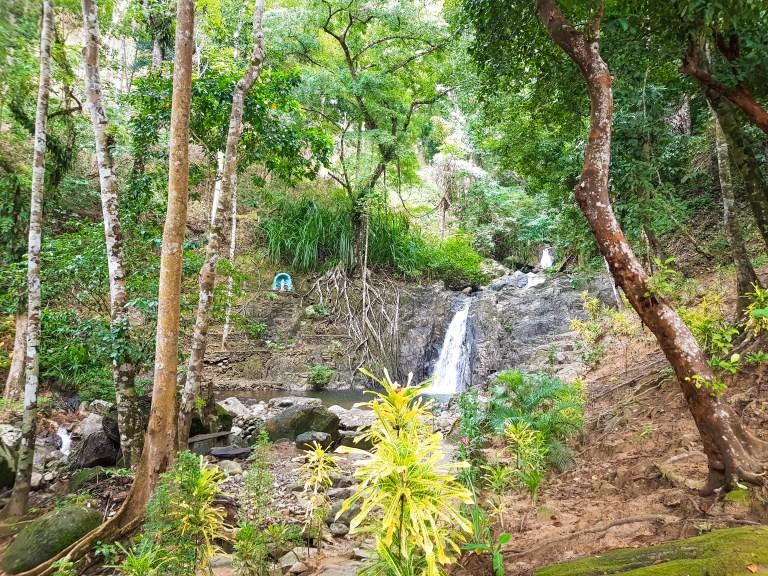 Bulalacao Falls El Nido Palawan Philippines