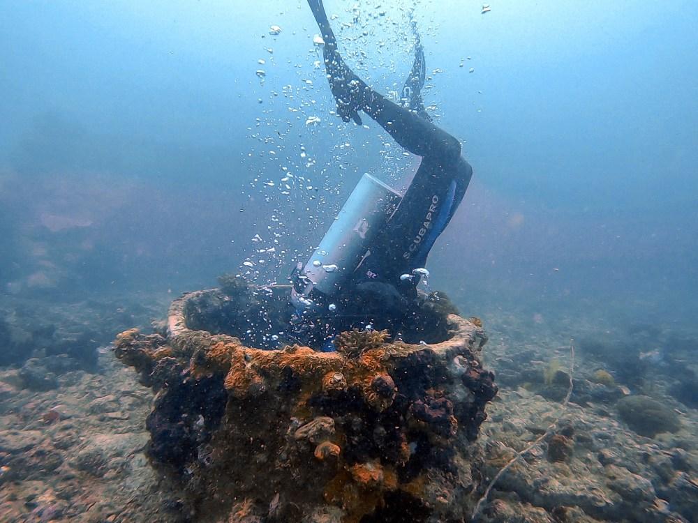 Dive Seafari El Nido Coron Palawan Philippines Shipwreck