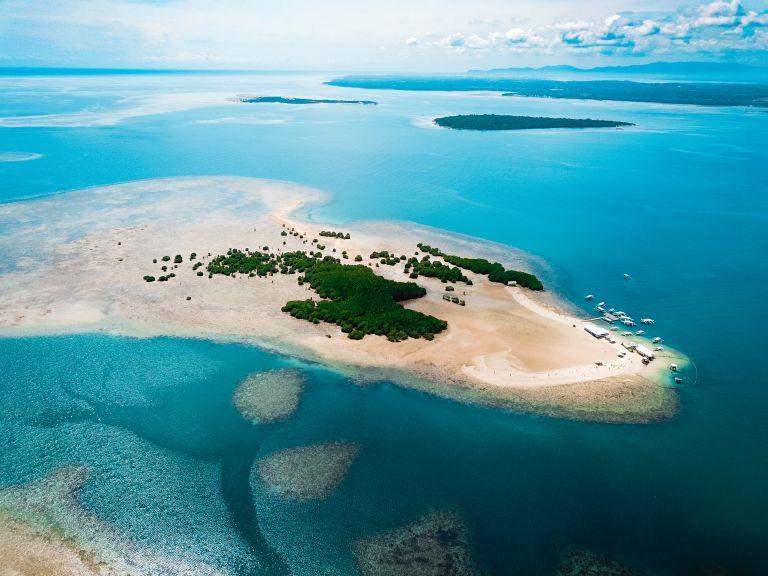 Honda Bay Palawan Philippines Island Hopping Drone