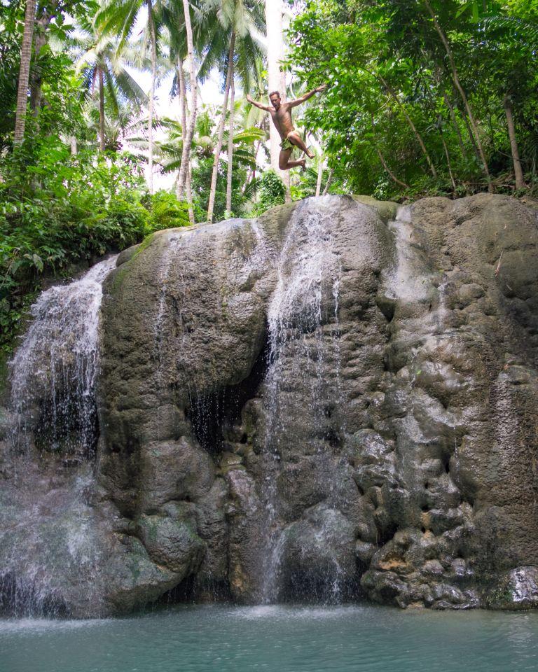 Lugnason Falls Siquijor Philippines