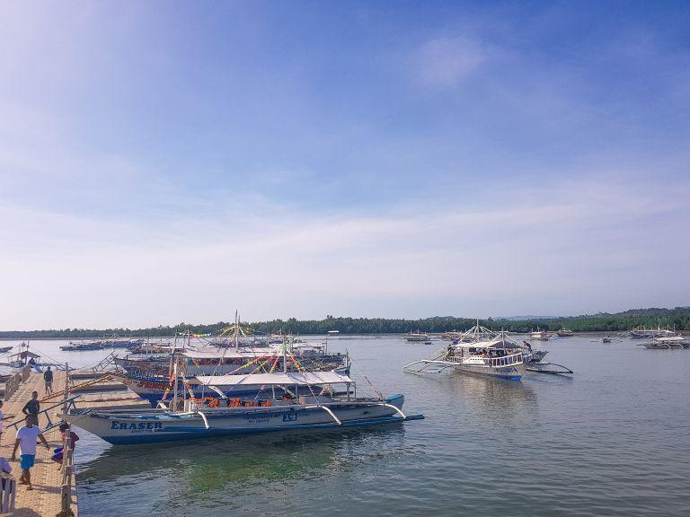Puerto Princesa Boat Harbour Palawan Philippines