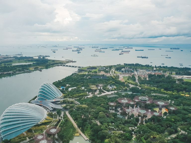Marina Bay Sands View of Singapore