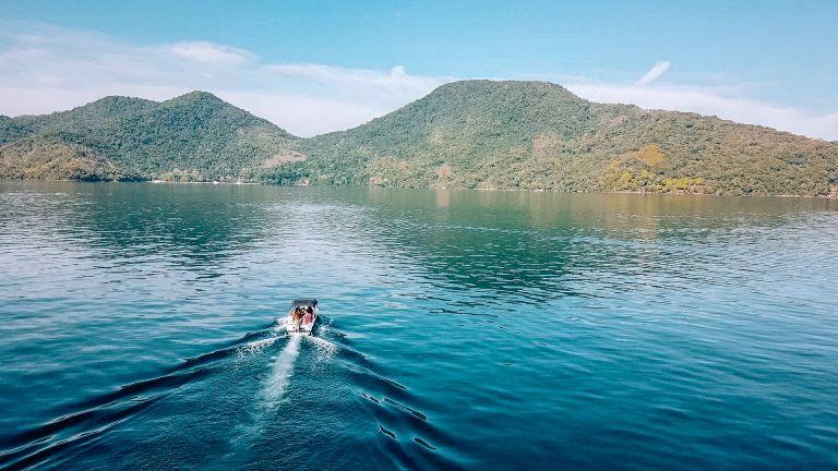 Ilha Grande Rio de Janeiro Brazil Boat Ride