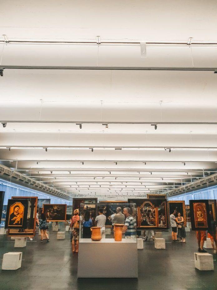 MASP Sao Paulo Brazil South America Permanent Exhibition