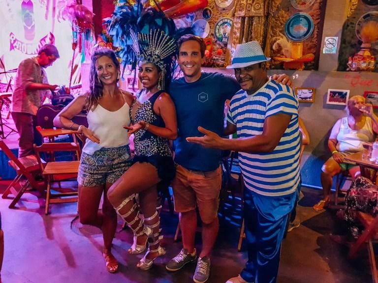 Salsa Bar Lapa Rio de Janeiro Brazil South America