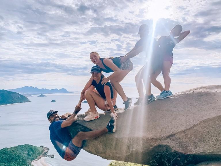 Telegraph Stone Team Rio de Janeiro Brazil South America