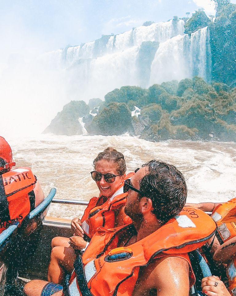 Cataratas del Iguazu Argentina Speedboat Fun