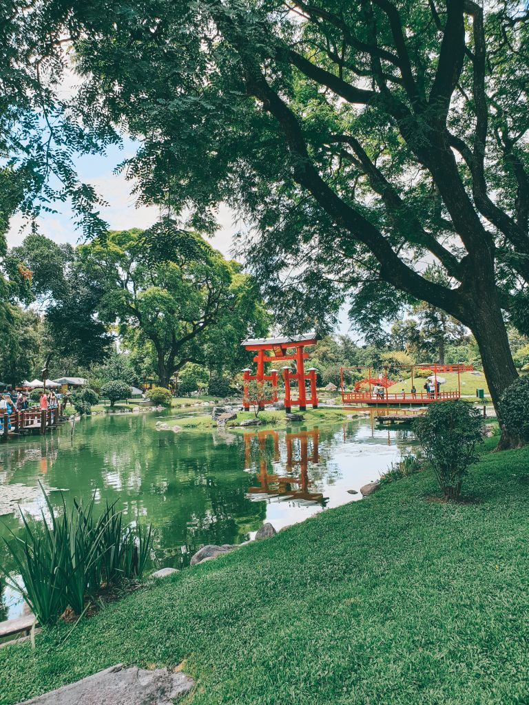 Lake views Japanese Gardens Buenos Aires Argentina