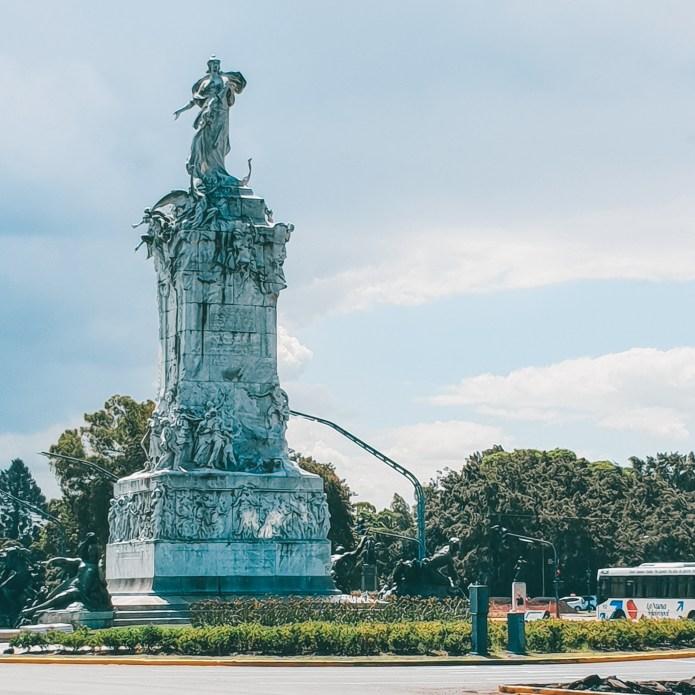 Monumento a La Carta Magna y las Cuatro Regiones Argentinas Buenos Aires Argentina
