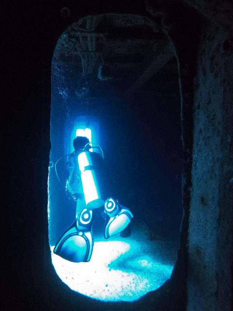 Shipwreck Scuba Diving Cancun Mexico