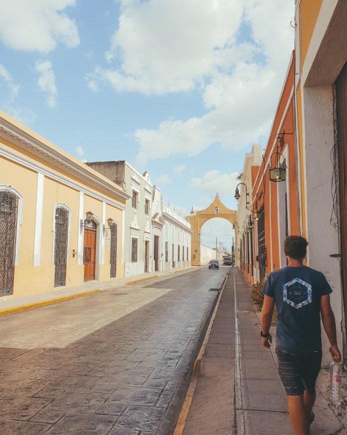 Street Merida Mexico North America