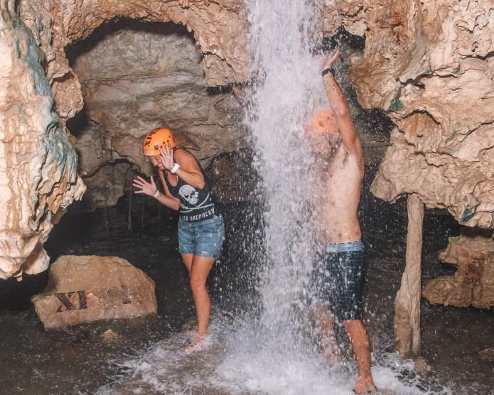 Xplor Playa del Carmen Mexico North America Waterfall