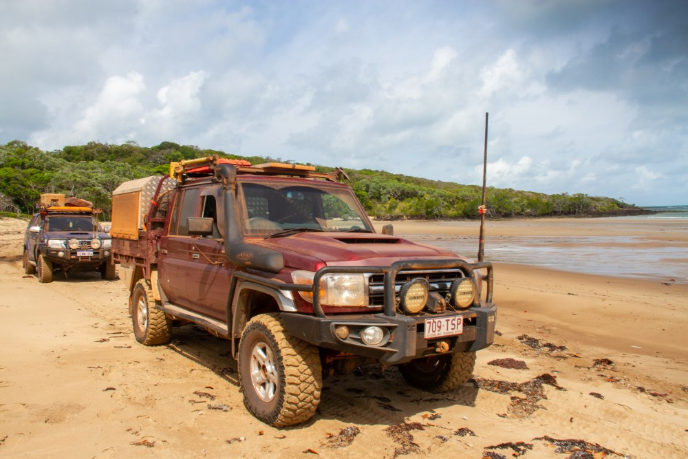 4wd 5 Beaches Cape York Queensland Australia