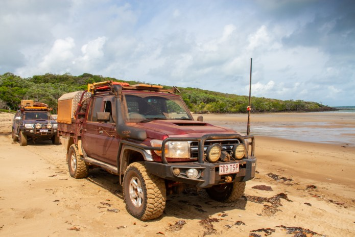4wd 5 Beaches Cape York Queensland Australia
