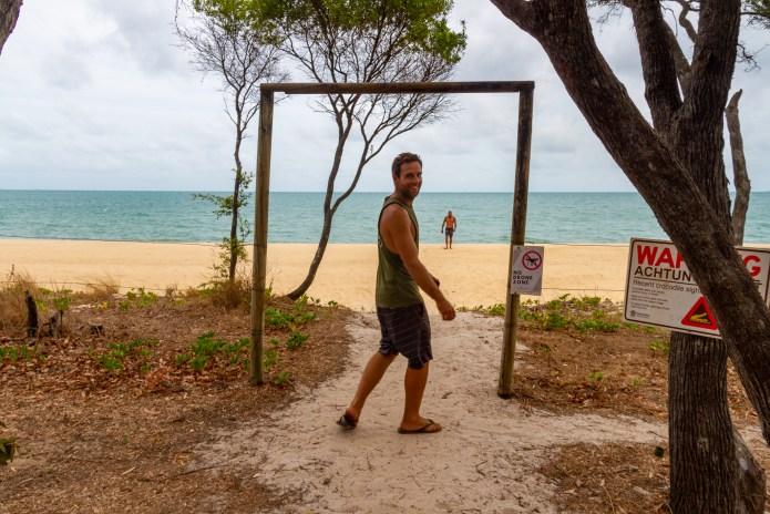 Punsand Bay Beach Cape York Queensland Australia