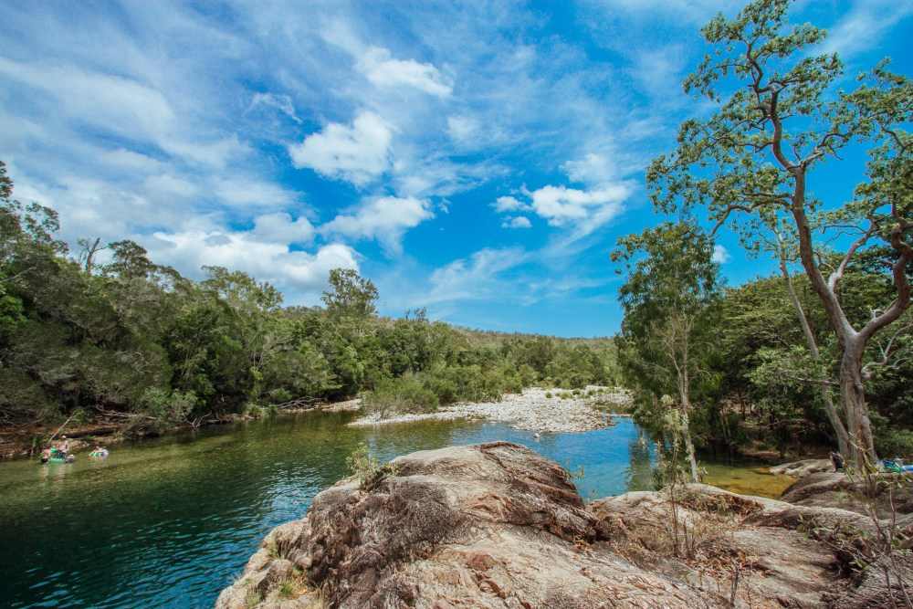 Crystal Creek Lagoon Queensland Australia