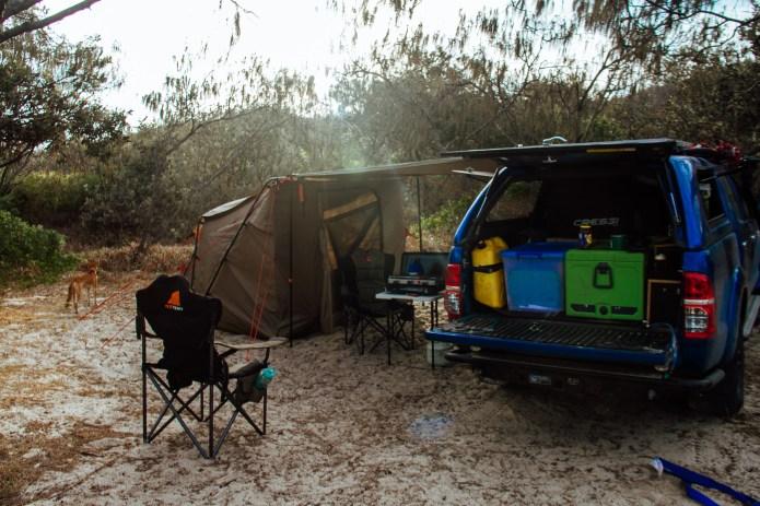Wongai Camping K'gari Queensland Australia