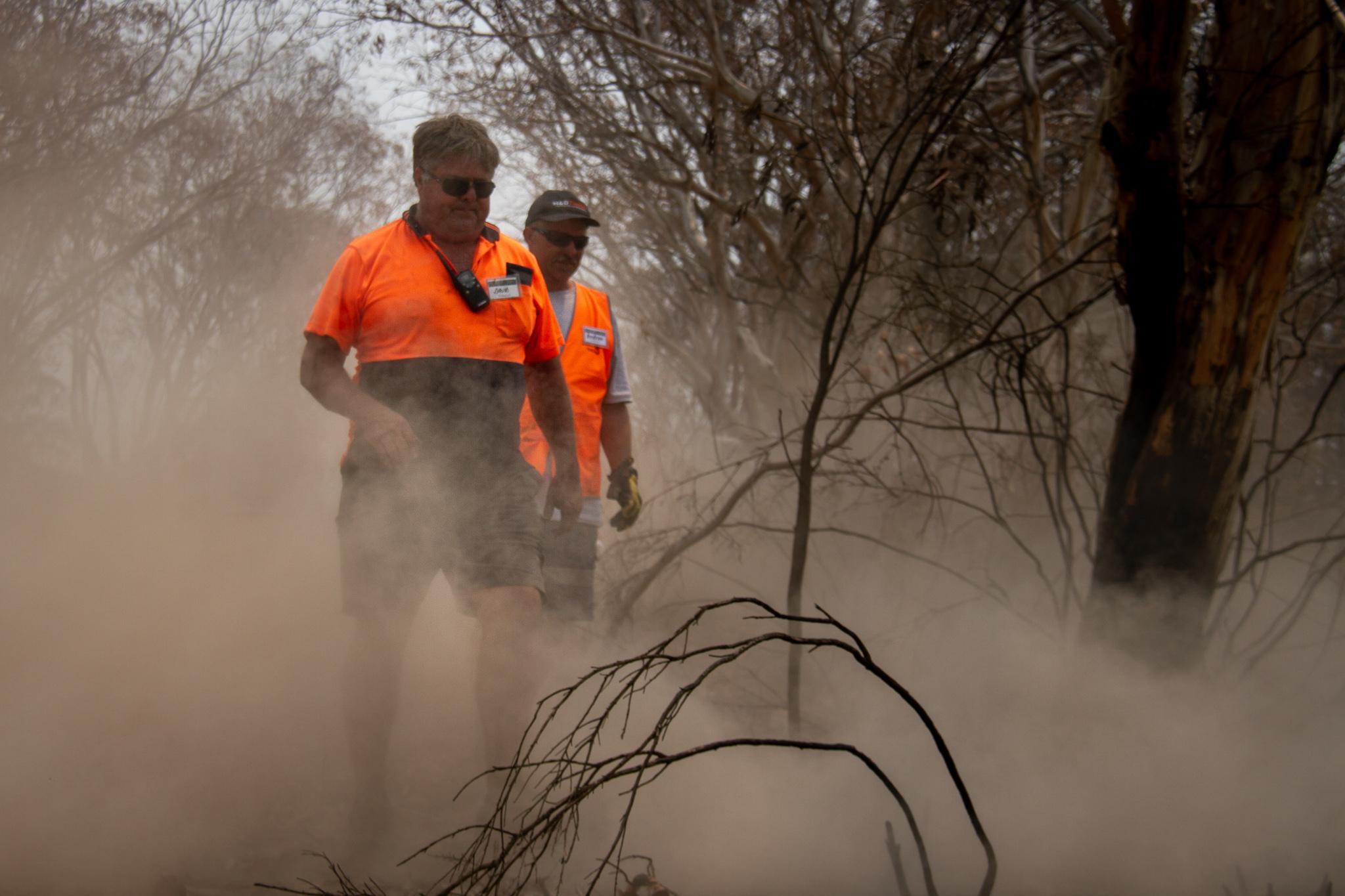 Volunteers BlazeAid Braidwood New South Wales Australia