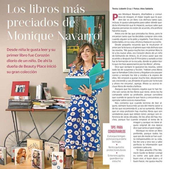 los libros más preciados de Monique Navarro
