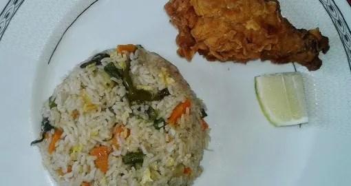 fried rice recipe chicken