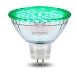 LED - Lichidare de stoc Bec Led – MR16 230v/30pcs/SMD3528 – green  *TV 0,25ron