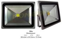 LED - proiectoare Proiector  LED   50w / 2700k – gri  *TV 0,25ron