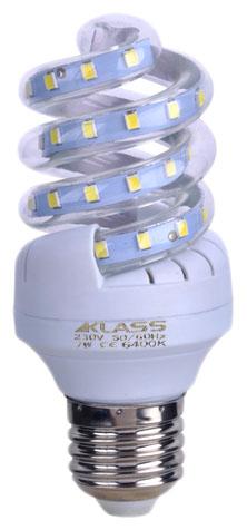 LED - Lichidare de stoc Bec Led – Klass spirala E27/ 7w 6400k  *TV 0,25ron