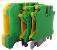 Tablouri electrice Regleta sina DIN – MTK 16mm – yellow/green