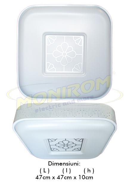 LED - Lichidare de stoc Klass – Aplica led 3516 – 48w (patrata)  *TV 0,25ron