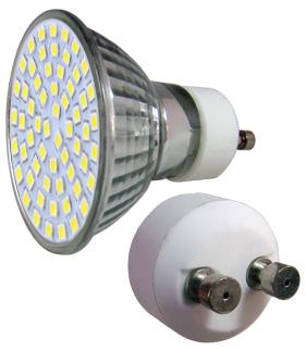 LED - Lichidare de stoc Bec Led – GU10 230v/60pcs/SMD3528  2700k  *TV 0,25ron