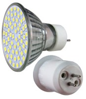 LED - Lichidare de stoc Bec Led – MR16 230v/60pcs/SMD3528  2700k  *TV 0,25ron