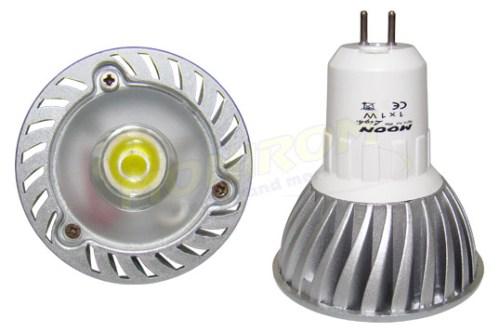 LED - Lichidare de stoc Bec power LED MR16 230v/1w 6400k