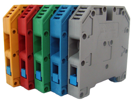 Tablouri electrice Regleta sina DIN – MRK 120mm – red