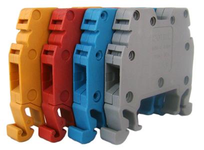 Tablouri electrice Regleta sina DIN – MRK   2,5mm – red