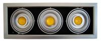 LED - comercial/office Spot Led reglabil DD 3x10w/6400k (montaj ingropat)  *TV 0,25ron
