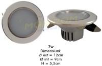 LED - Lichidare de stoc Spot Led  3,5″ – 7w/6400k  *TV 0,25ron