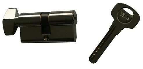 ASSA ABLOY / URBIS / FERONERIE Yale 1000CA K Cilindru amprenta 30×40 cu buton