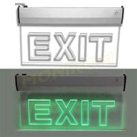 Corp iluminat urgenta - EXIT Klass 3115 – Lampa EXIT Led 3w (6×0,5w / 360x200x22mm)