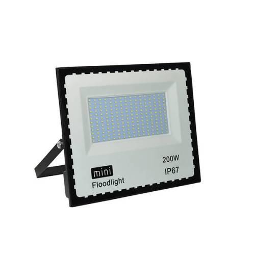 LED - proiectoare Proiector  LED mini 200w/6400k/negru  *TV 0,25ron