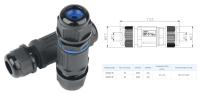 Accesorii instalatia electrica Conector cablu rapid IP65  CNP20-3 / 3 fire 0,5 – 1,5mm