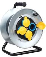 Prelungitoare ruleta Vipex 43041 Prelungitor ruleta metalic IP44  3×1,5mm/20m/MYYM