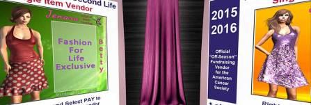 Jenara - 500/275 L http://maps.secondlife.com/secondlife/Fashion%20For%20Life6/98/174/24