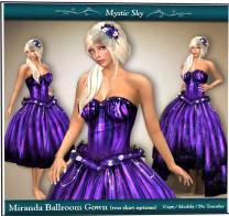 Mystic Sky Clothing Design - 400L http://maps.secondlife.com/secondlife/Fashion%20For%20Life3/38/226/23