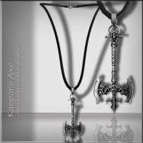 Men's Day 8: Kasper's Axe Mens Necklace