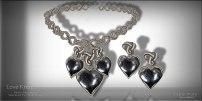 Women's Day 4: Love Knot Pyrite Set
