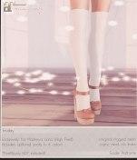 Fri.Day http://maps.secondlife.com/secondlife/Lost%20Cove/77/139/1000 * Sadie Platforms * Available for Maitreya * 275L/ 1500L
